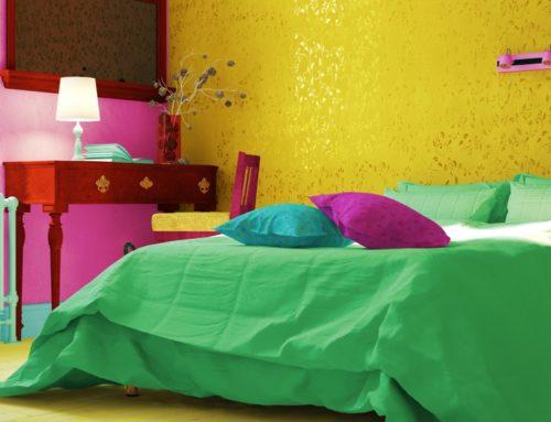 Ein bunter Traum: Farben im Schlafzimmer